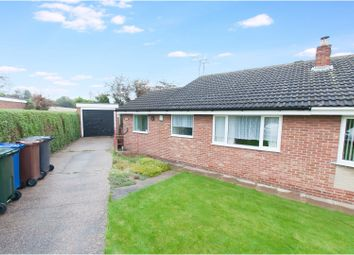 Thumbnail 2 bed semi-detached bungalow for sale in Cadwell Close, Cudworth