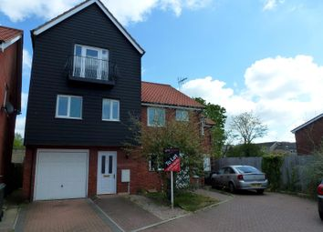 Thumbnail 3 bedroom property to rent in Thorney Hall Close, Stowmarket