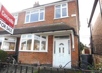 Thumbnail 3 bedroom semi-detached house for sale in Eastwood Road, Aylestone, Leicester