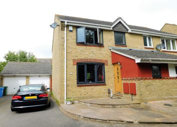 Thumbnail 3 bedroom semi-detached house to rent in Lake Road, Hamworthy, Poole