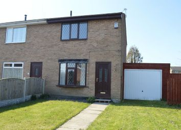 Thumbnail 2 bed terraced house to rent in Wentworth Road, Featherstone, Pontefract