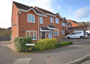 Thumbnail 3 bed semi-detached house for sale in Atte Lane, Warfield, Bracknell
