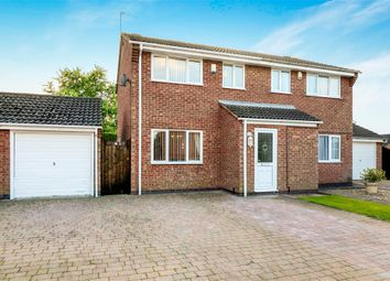 Thumbnail 3 bedroom semi-detached house to rent in Wexford Close, Oadby, Leicester