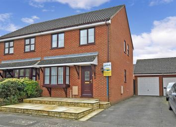 Thumbnail 3 bed semi-detached house for sale in The Hedgerow, Weavering, Maidstone, Kent