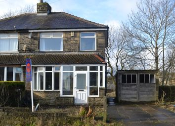 Thumbnail 3 bed semi-detached house for sale in Hillcrest Road, Queensbury, Bradford