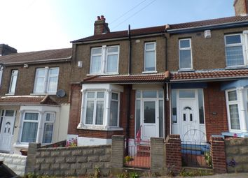 3 bed terraced house for sale in Longfellow Road, Gillingham ME7