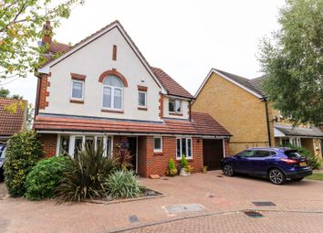 Thumbnail 4 bed detached house for sale in Starkey Close, Hammond Street, Cheshunt, Herts