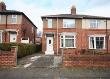 Thumbnail 2 bed semi-detached house for sale in Bensham Road, Darlington