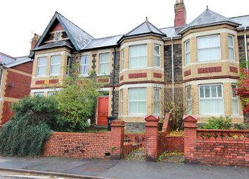 Thumbnail 4 bed terraced house for sale in Caerleon Road, Newport