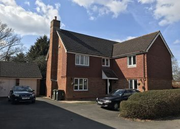 Thumbnail 5 bed detached house to rent in Upmill Close, West End, Southampton