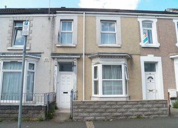 Thumbnail 4 bed terraced house for sale in Rhyddings Terrace, Brynmill, Swansea