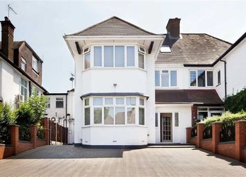 Thumbnail 5 bed semi-detached house for sale in Gresham Gardens, Golders Green
