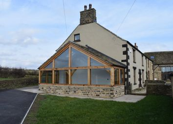 Thumbnail 4 bed farmhouse to rent in Old Hall Lane, Emley, Huddersfield