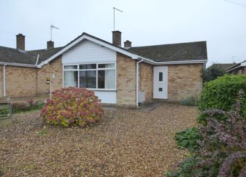 Thumbnail 3 bed detached bungalow for sale in Milton Drive, Leverington, Wisbech