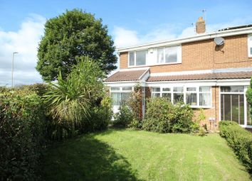 Thumbnail 3 bed semi-detached house for sale in Norwich Way, Jarrow