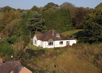 Thumbnail 4 bed detached bungalow for sale in Fairoak, Eccleshall, Staffordshire