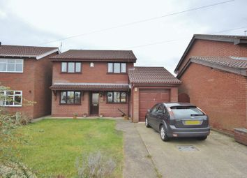 Thumbnail 4 bed detached house for sale in Hall Drive, Greasby, Wirral