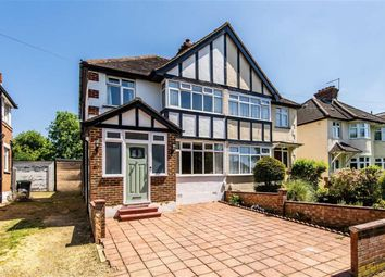 Thumbnail 3 bed semi-detached house for sale in Grand Avenue, Berrylands, Surbiton