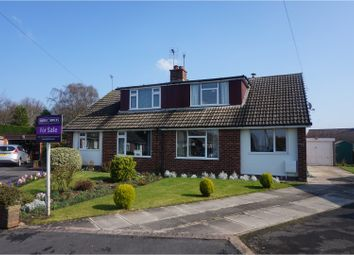 Thumbnail 3 bed semi-detached bungalow for sale in Brackenhill Avenue, Selby