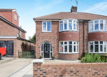 Thumbnail 3 bedroom semi-detached house for sale in Almsford Road, York