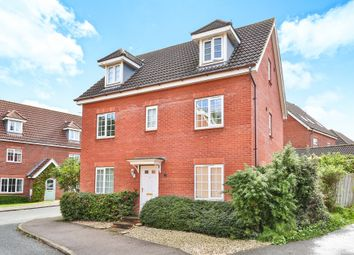 Thumbnail 5 bedroom detached house for sale in Joyce Way, Thorpe St. Andrew, Norwich