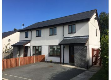 Thumbnail 2 bedroom semi-detached house for sale in Bro Aber, Abersoch