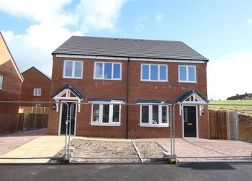 Thumbnail 3 bed semi-detached house for sale in Woodland Street, Biddulph, Stoke-On-Trent