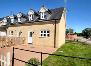 Thumbnail 2 bed end terrace house to rent in Coltsfoot Close, Barleythorpe, Oakham