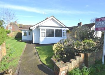 Thumbnail 2 bed detached bungalow for sale in Sea Lane Gardens, Ferring, West Sussex