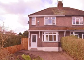 Thumbnail 2 bed semi-detached house for sale in Armitage Road, Rugeley, Staffordshire