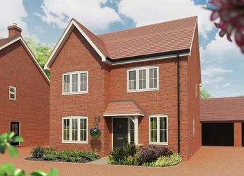 "Thumbnail 4 bed detached house for sale in ""The Juniper"" at Maddoxford Lane, Botley, Southampton"