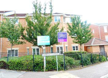 Thumbnail 2 bedroom flat for sale in Roundhouse Crescent, Worksop, Worksop, Nottinghamshire