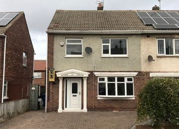 Thumbnail 3 bed semi-detached house to rent in Lea Avenue, Jarrow