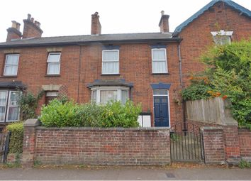 Thumbnail 3 bed terraced house for sale in Walsworth Road, Hitchin