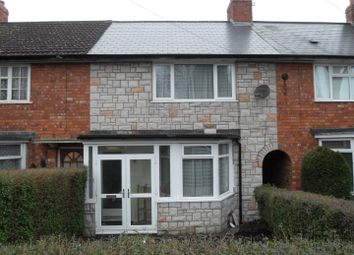 Thumbnail 3 bed terraced house to rent in Brent Road, Stirchley, Birmingham