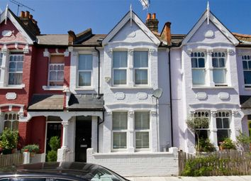 Thumbnail 3 bed terraced house to rent in Galloway Road, London