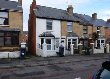 Thumbnail 2 bed end terrace house to rent in Fellows Road, Cowes