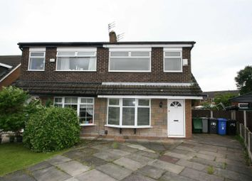 Thumbnail 3 bedroom property to rent in Arundel Avenue, Urmston, Manchester
