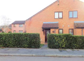 Thumbnail 1 bedroom end terrace house to rent in Rotherfield Close, Theale, Reading