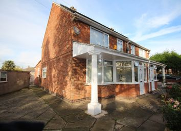 Thumbnail 3 bed semi-detached house to rent in Headland Road, Leicester