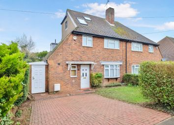 Thumbnail 4 bed semi-detached house for sale in The Highway, Chelsfield, Orpington