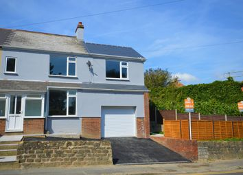 Thumbnail 3 bed semi-detached house for sale in Risborough Lane, Cheriton, Folkestone