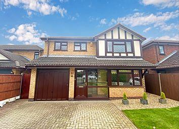 Thumbnail 4 bed detached house for sale in Norwich Close, St Nicolas Park, Nuneaton
