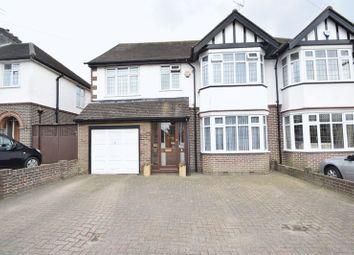 Thumbnail 4 bedroom semi-detached house for sale in Kingsdown Avenue, Luton