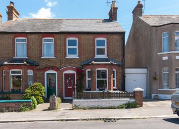 Thumbnail 2 bed semi-detached house for sale in Victoria Avenue, Westgate-On-Sea