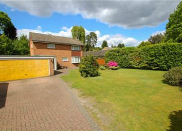 Thumbnail 3 bedroom detached house for sale in Clewborough Drive, Camberley, Surrey