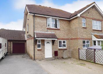Thumbnail 3 bed semi-detached house for sale in Kendal Close, Littlehampton