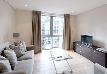 Thumbnail 3 bed flat to rent in Harbet Road, Edgware Road, London