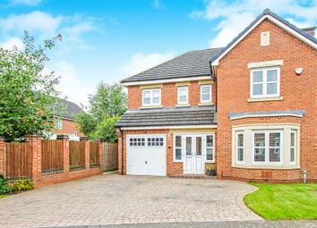 Thumbnail 4 bed detached house for sale in Shackleton Drive, Burbage, Hinckley