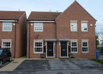 Thumbnail 2 bed town house to rent in Carter Street, Howden, Goole